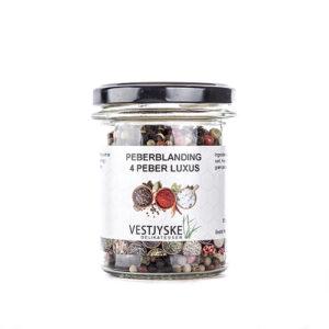 Peberblandning 4 peber luksus