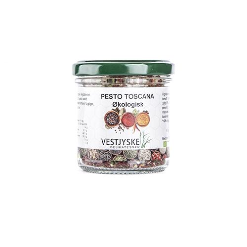 Økologisk Pesto Toscana, økologiske krydderier, økologi krydderi