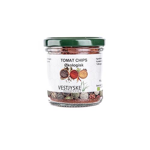 økologisk tomatchips