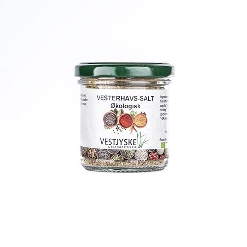 Økologisk vesterhavssalt økologiske krydderier, økologi krydderi