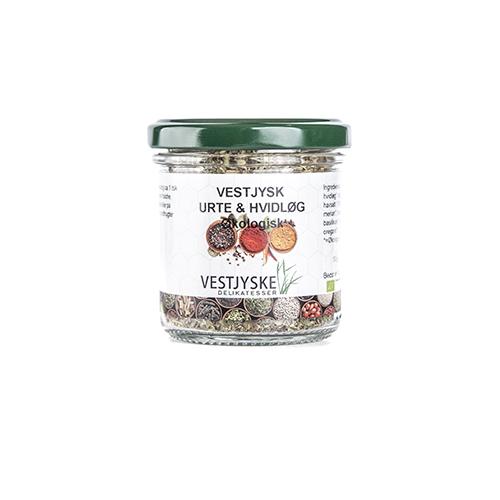 økologisk vestjysk urte & hvidløgØkologisk Vestjyske Drømme, økologiske krydderier, økologi krydderi
